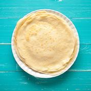 Pâte à crêpes sucrée (sans œuf, ni lait)