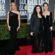 Isabelle Huppert, Reese Witherspoon, Natalie Portman : éclatantes et militantes en noir aux Golden Globes 2018