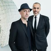 Kamel Mennour et Gad Elmaleh, engagés volontaires