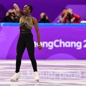 La performance engagée de la patineuse française Maé-Bérénice Méité aux JO