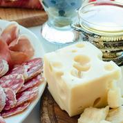 Camembert, moutarde de Dijon, jambon Aoste, champignons de Paris... 7