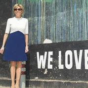 Le marathon mode de Brigitte Macron en Inde