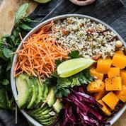 Buddha bowl végétarien à la menthe