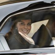 Sur le point d'accoucher, Kate Middleton a assisté à la messe de Pâques