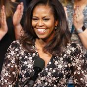 Michelle Obama s'invite à une pyjama party pour l'arrivée du