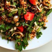 Taboulé de quinoa tomate olive