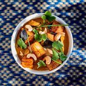 Curry d'aubergine