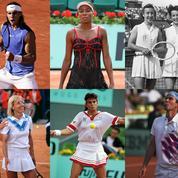 De René Lacoste à Serena Williams, les champions du style à Roland-Garros