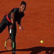 Roland-Garros 2018 : Serena Williams dégaine la combi intégrale