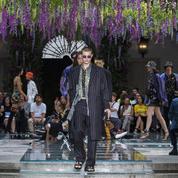 Défilé Versace printemps-été 2019 Homme