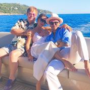 Les photos des Beckham en vacances sur la Côte d'Azur