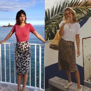 Se laissera-t-on tenter par la slip skirt, nouvelle jupe fétiche des influenceuses?