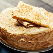 Pâte à crêpes sucrée (sans gluten, ni œuf, ni lait)