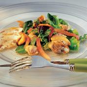 Salade de coquillages au basilic