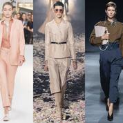 Blazers, tailleurs, chemisiers... La Fashion Week célèbre la business woman féminine et affirmée