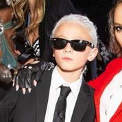 Le prix du déguisement d'Halloween le plus mode revient au filleul de Karl Lagerfeld