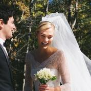 Somptueuse en robe de mariée Dior, Karlie Kloss a dit oui à Joshua Kushner