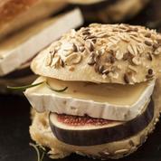 Burger au canard et aux figues