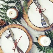 Douze tables de fêtes