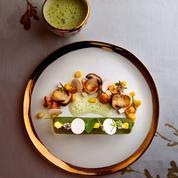 Escargots au beurre menthe réglisse et cromesquis