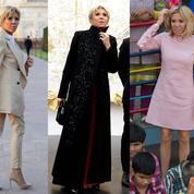 À la plage, à l'Élysée ou au Taj Mahal... Les apparitions les plus marquantes de Brigitte Macron