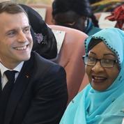 Au Tchad, Macron s'engage contre les violences faites aux femmes