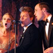 Ce moment gênant où le prince William a chanté avec Taylor Swift et Bon Jovi
