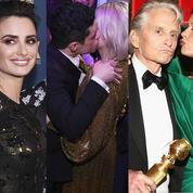 Le baiser de Rami Malek, la danse d'Alison Brie, le burger de Julia Roberts… Dans les coulisses des Golden Globes 2019