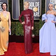 Entre faste et retenue, le retour des robes glamour sur le tapis rouge des Golden Globes 2019
