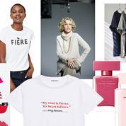 Des tee-shirts à messages, un kit beauté exclusif,une campagne solidaire... L'Impératif Madame du 8 mars