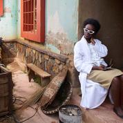 Au Rwanda, sur le tournage de