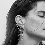 Treize boucles d'oreilles aux diamants graphiques pour le Festival de Cannes