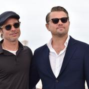 Solaires et sourires de tombeurs : Brad Pitt et Leonardo DiCaprio en mode Riviera au photocall