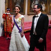 Une étourdissante Kate Middleton éclipse Melania Trump au dîner de gala