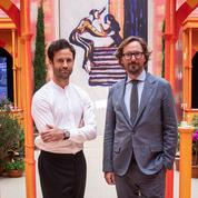 Benjamin Millepied et Nicolas Bos :