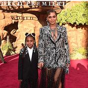 En photos, Beyoncé et sa fille Blue Ivy toutes de strass vêtues à l'avant-première du
