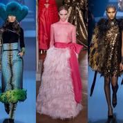 Valentino époustouflant, Gaultier vibrant, le final de la haute couture à Paris