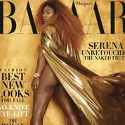 Serena Williams pose non retouchée en une de