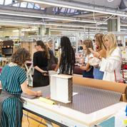 Dans le secret des ateliers Louis Vuitton à Asnières avec Valentina Ferragni
