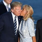 Brigitte Macron et Donald Trump, le bisou généreux au photocall du G7