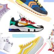 Vingt paires de sneakers colorées pour attaquer de plain-pied la rentrée