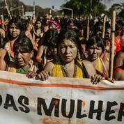 Au Brésil, 100.000 femmes du monde rural manifestent contre Jair Bolsonaro