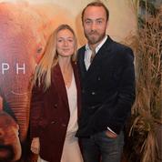 La toute première apparition de James Middleton et de sa fiancée Alizée Thévenet sur le tapis rouge