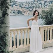 Laure de Sagazan présente sa collection de robes de mariée 2020 très