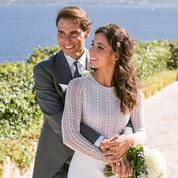 Les premières photos du mariage de Rafael Nadal et Mery Perelló dévoilées