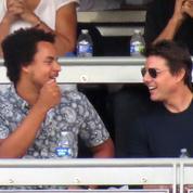 Rare apparition de Connor, le fils de Tom Cruise, lors d'une sortie en hélicoptère