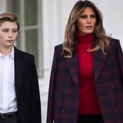 Barron Trump à 3 ans, la photo ressortie par la sœur de Melania