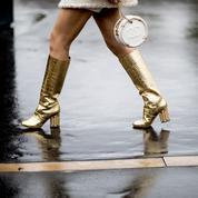 Boots, bottes, bottines... cet hiver, nos pieds se chaussent d'or