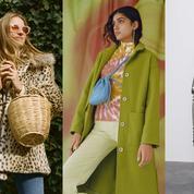 Imprimés, colorés, minimalistes... Les manteaux qui vont réchauffer l'hiver