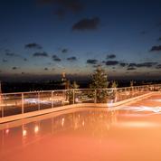 Patinoire à ciel ouvert et vue panoramique d'exception aux Galeries Lafayette à Paris